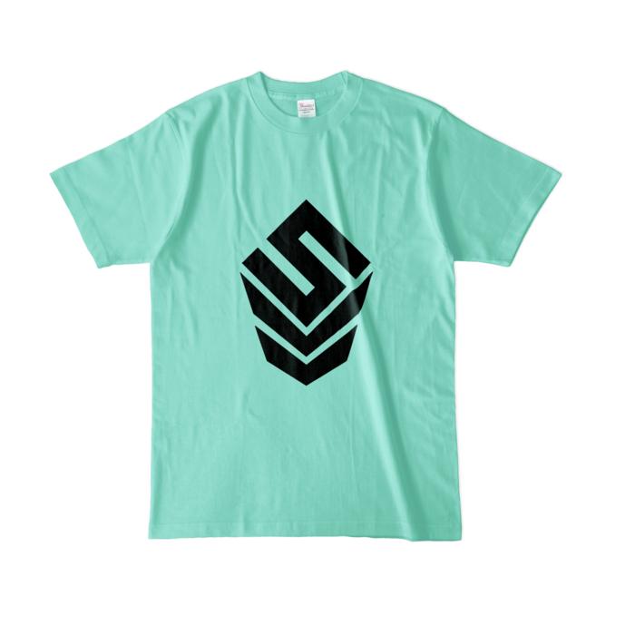 カラーTシャツ(淡色) - L - アイスグリーン