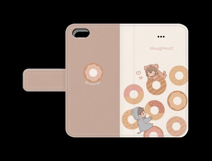 手帳型iPhoneケース - iPhone5/5s/SE