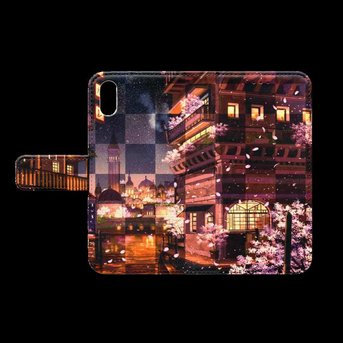手帳型iPhoneケース - iPhone X - ストラップ穴 なし