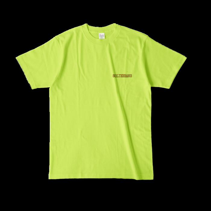 カラーTシャツ - L - ライトグリーン (淡色)