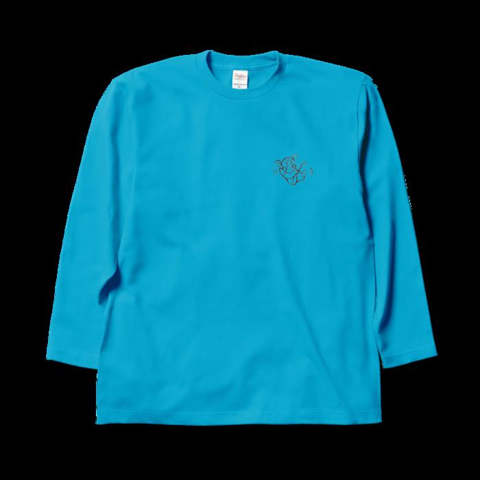 ロングスリーブTシャツ - XL - ターコイズ