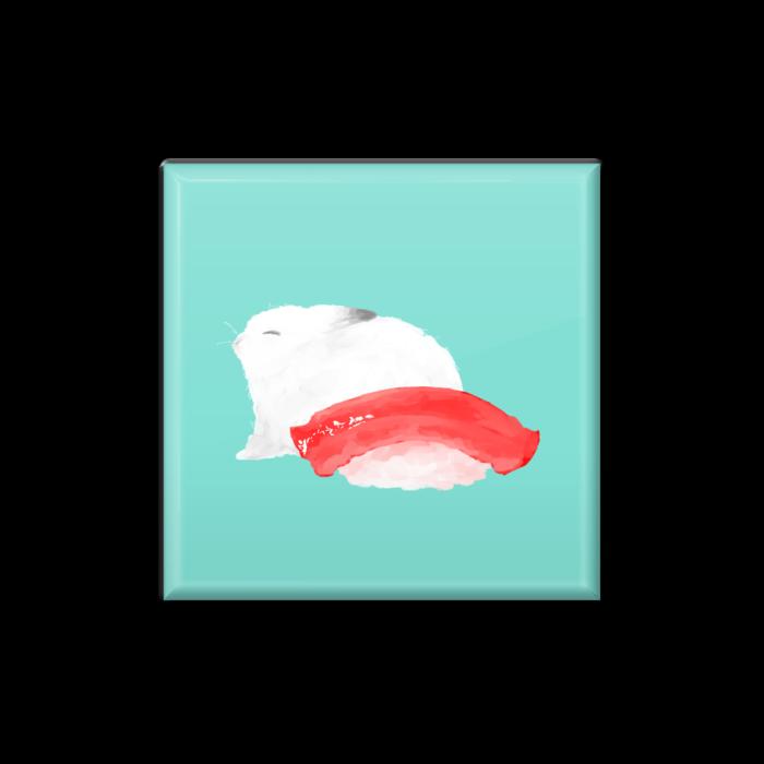 缶バッジ - 四角形40mm