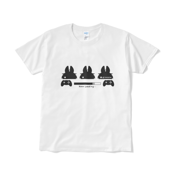 Tシャツ- L - ホワイト