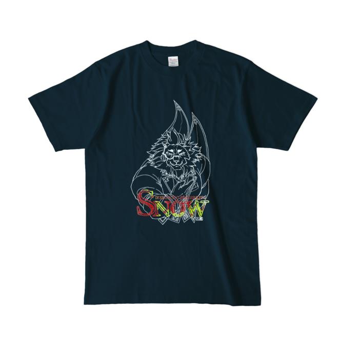 カラーTシャツ(濃色) - L - ネイビー