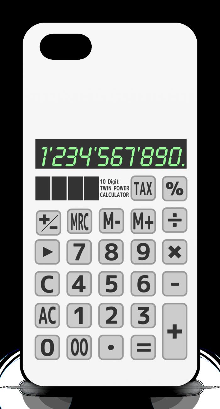 iPhoneケース - iPhone5 - 正面印刷のみ - 白