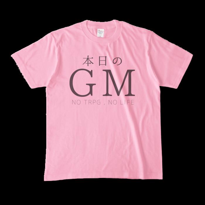 カラーTシャツ - M - ピーチ