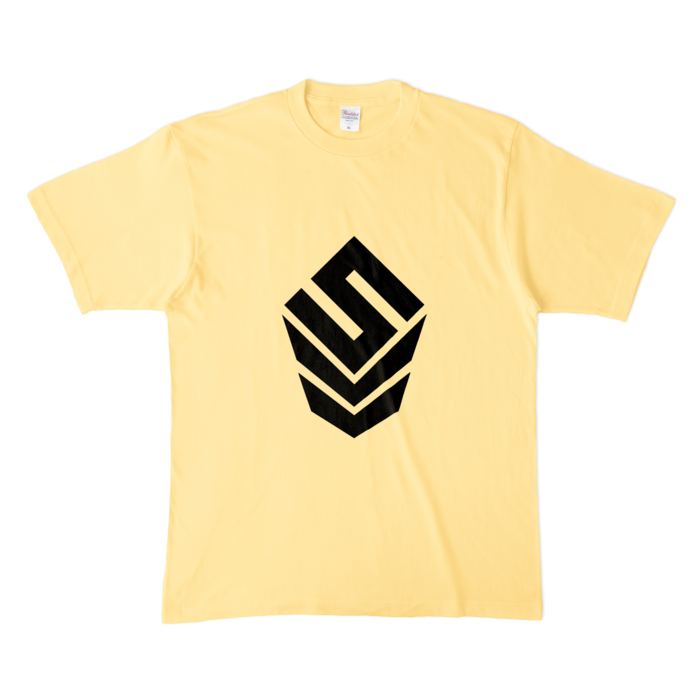 カラーTシャツ(淡色) - XL - ライトイエロー