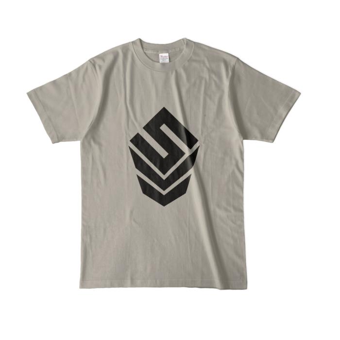カラーTシャツ(淡色) - L - シルバーグレー