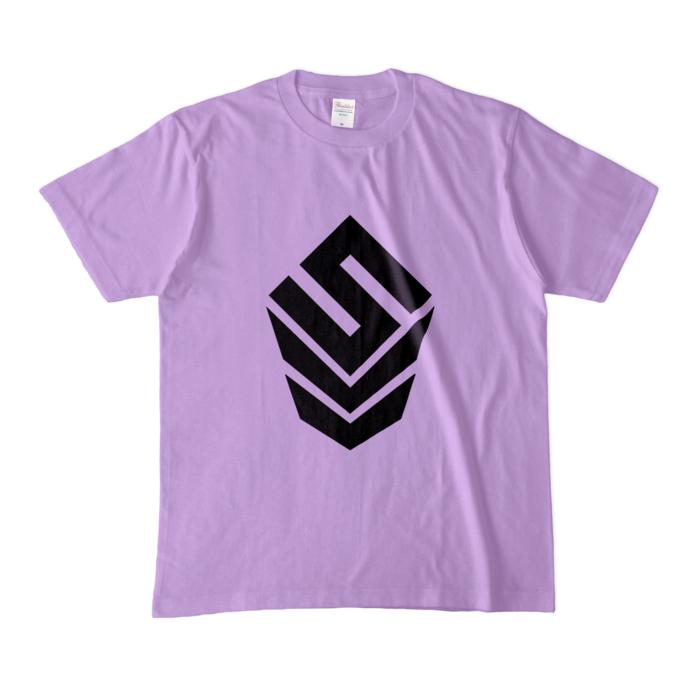 カラーTシャツ(淡色) - M - ライトパープル