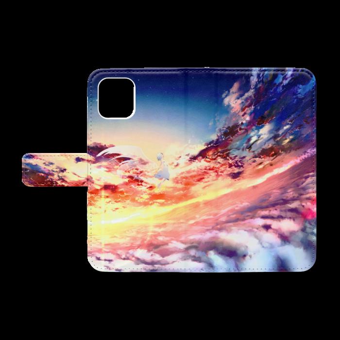 手帳型iPhoneケース - iPhone11 - ストラップ穴 なし