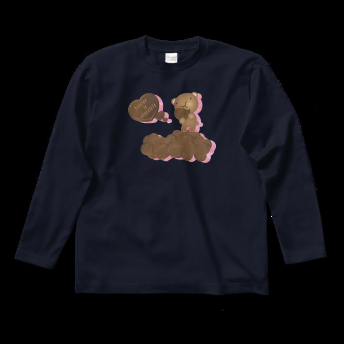 ロングスリーブTシャツ - S - ネイビー