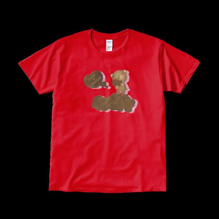Tシャツ(短納期) - L - レッド