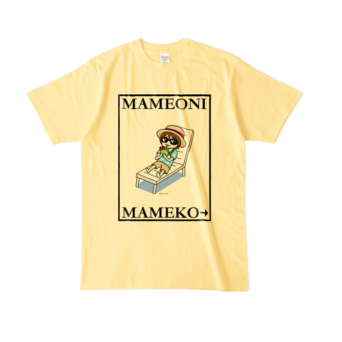 カラーTシャツ(淡色) - L - ライトイエロー