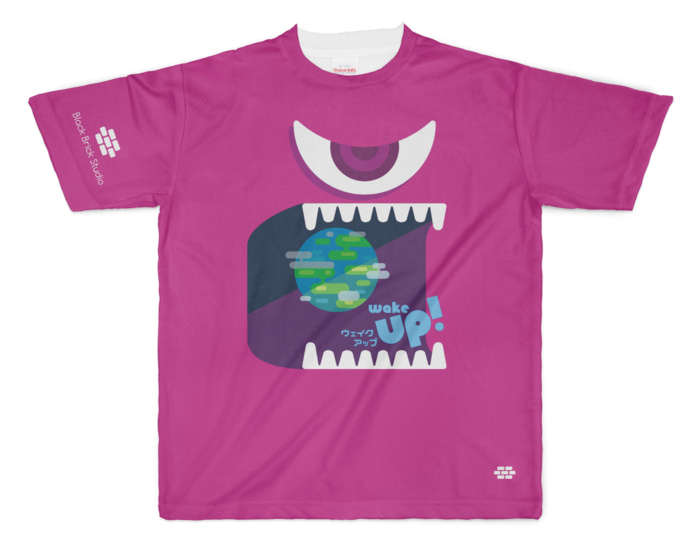Wake Up! Tシャツ - XLサイズ