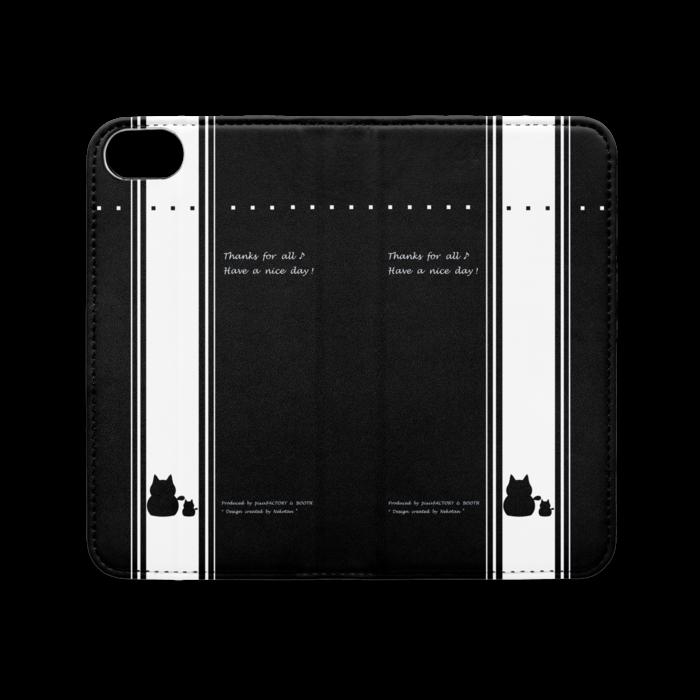 手帳型iPhoneケース(ベルトなし) - iPhone 8 / 7 - ストラップ穴 なし