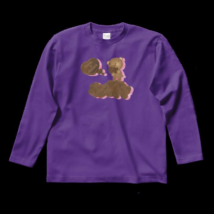 ロングスリーブTシャツ - S - パープル