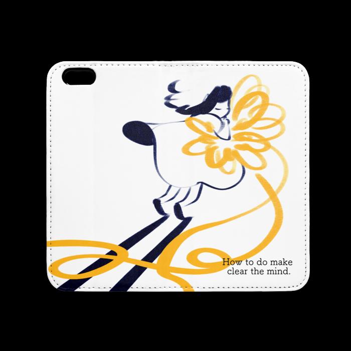 手帳型iPhoneケース(ベルトなし) - iPhone 6 / 6s - ストラップ穴 なし