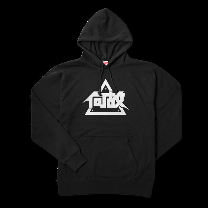 パーカー - XL - ブラック
