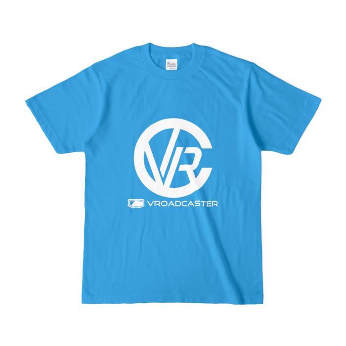 カラーTシャツ(濃色) - S - ターコイズ