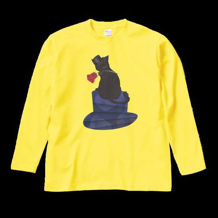 ロングスリーブTシャツ - M - イエロー