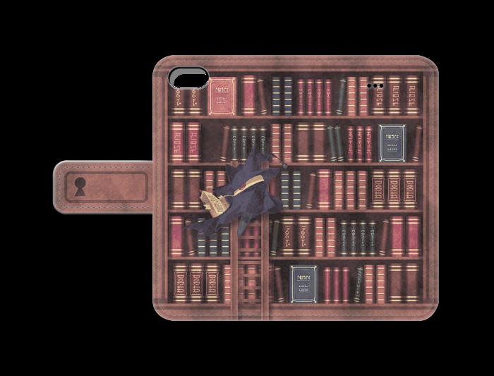 3948 BOOTH の手帳型 iPhone ケース
