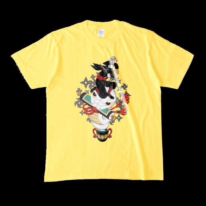 カラーTシャツ - M - イエロー