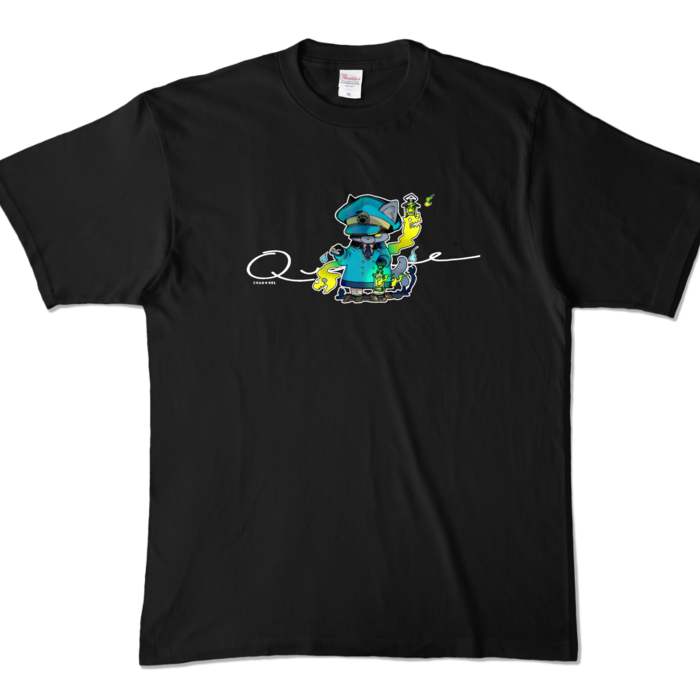 カラーTシャツ - XL - ブラック (濃色)