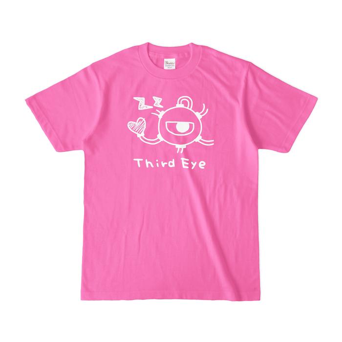カラーTシャツ(濃色) - S - ピンク