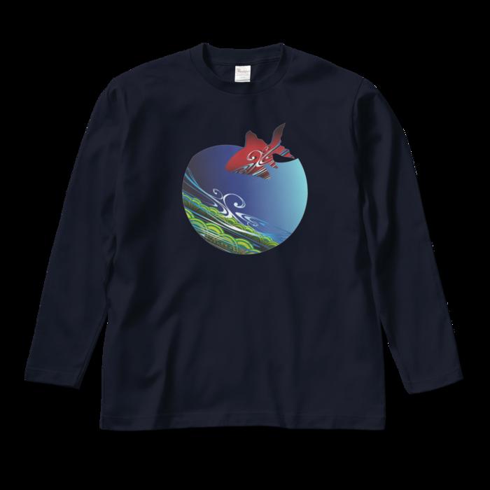 ロングスリーブTシャツ - M - ネイビー