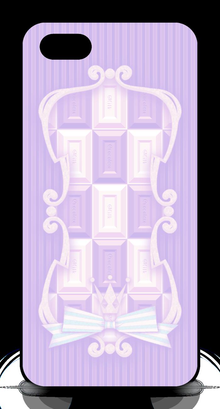 Phone5(紫) - 正面印刷のみ
