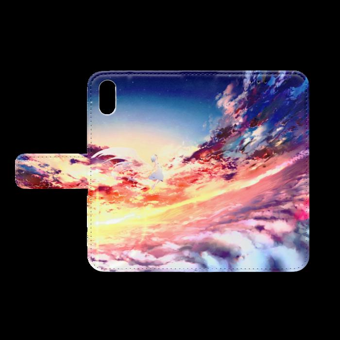 手帳型iPhoneケース - iPhone XS / X - ストラップ穴 なし