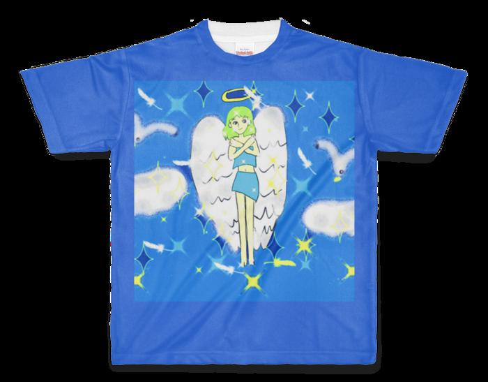 フルグラフィックTシャツ - M - 正面印刷のみ