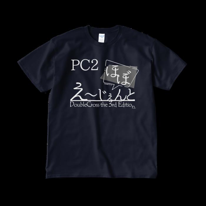 Tシャツ - XL - ネイビー