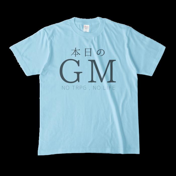 カラーTシャツ - M - ライトブルー(1)