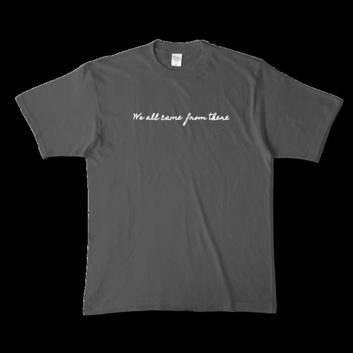 カラーTシャツ - XL - チャコール