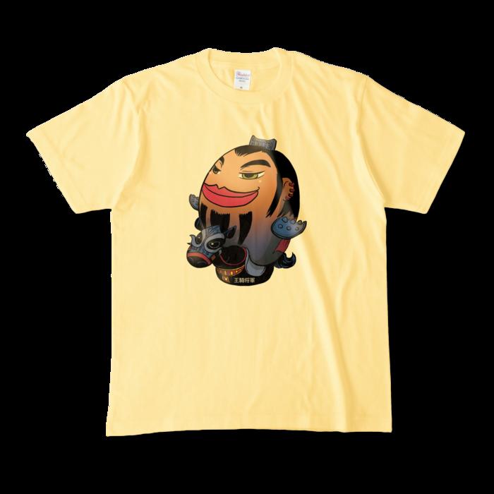 カラーTシャツ - M - ライトイエロー