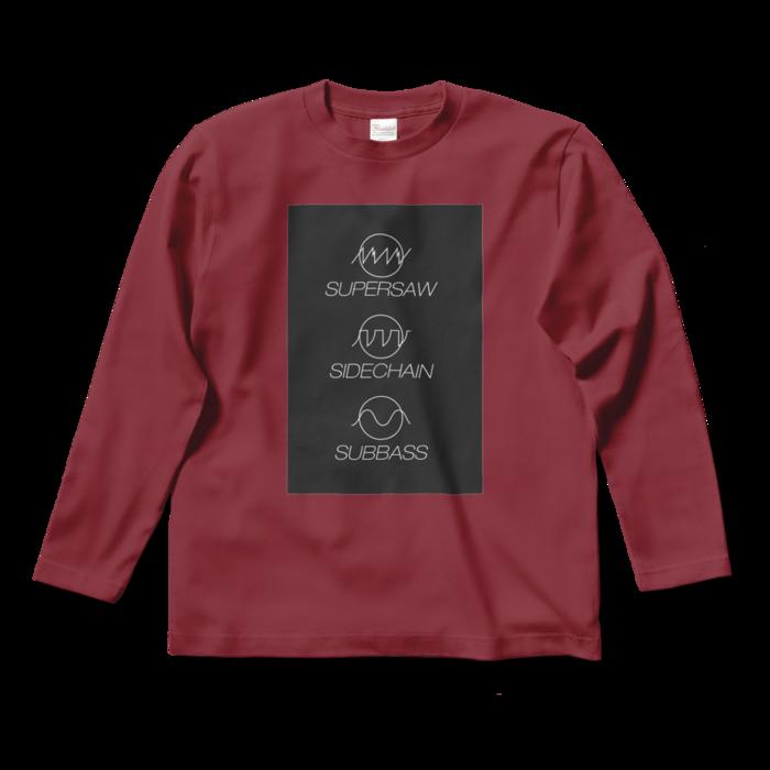 ロングスリーブTシャツ - S - バーガンディ