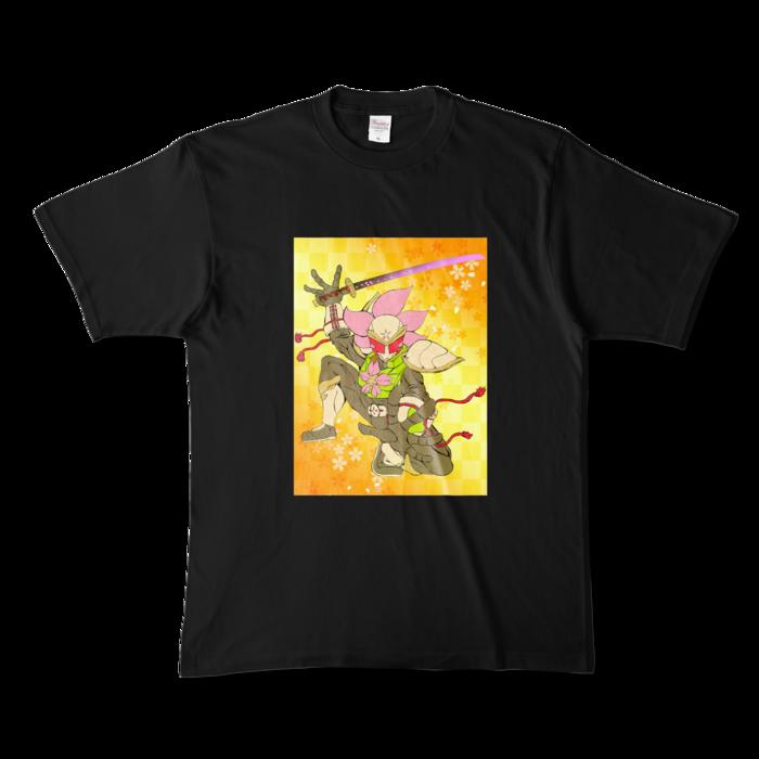 カラーTシャツ - XL - ブラック