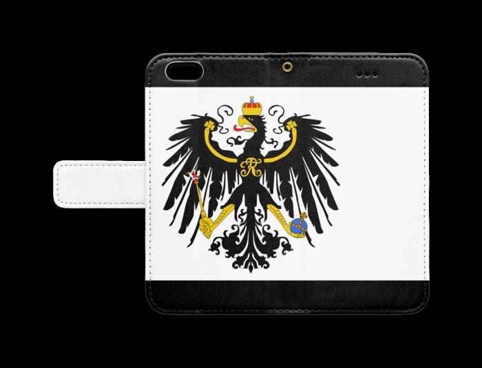 手帳型iPhone6 - ストラップ穴 あり