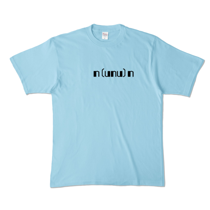 カラーTシャツ - XL - ライトブルー (淡色)