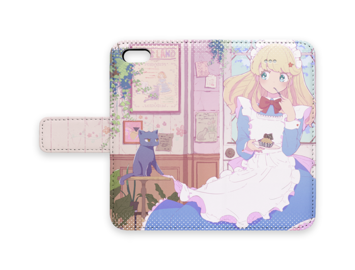 手帳型iPhoneケース - iPhone 5 / SE - ストラップ穴 なし