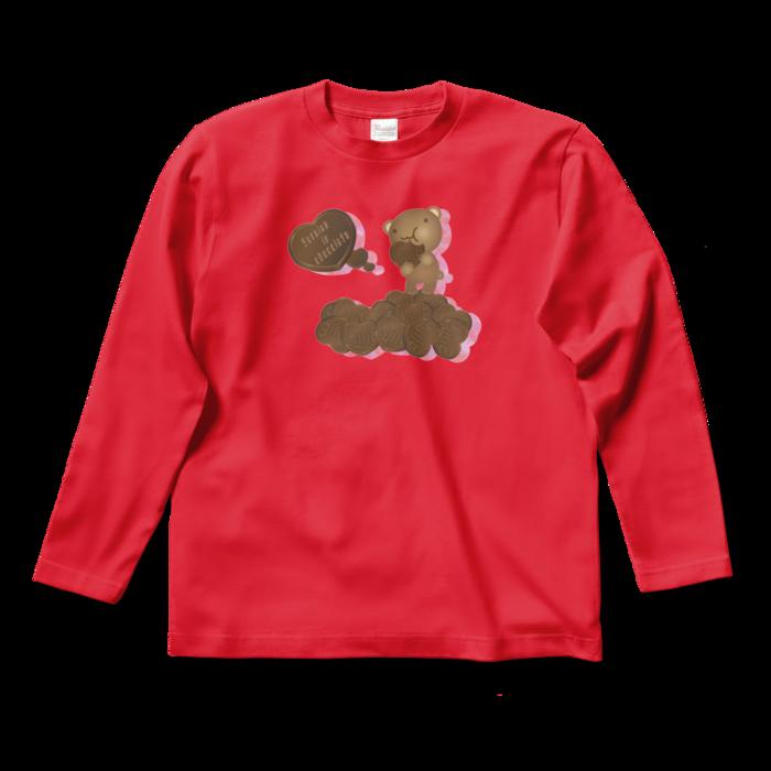 ロングスリーブTシャツ - S - レッド