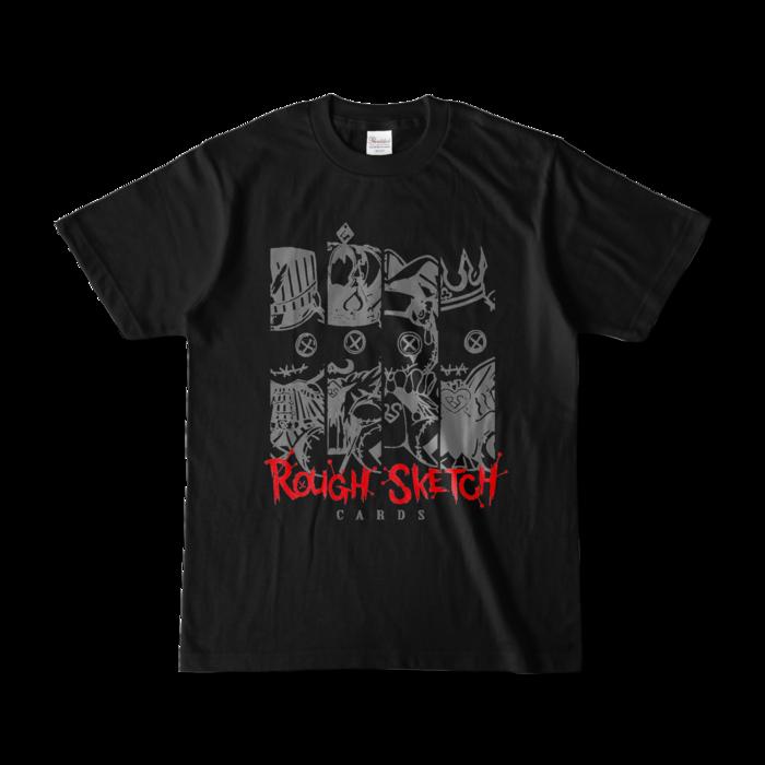 カラーTシャツ - S - ブラック (濃色)