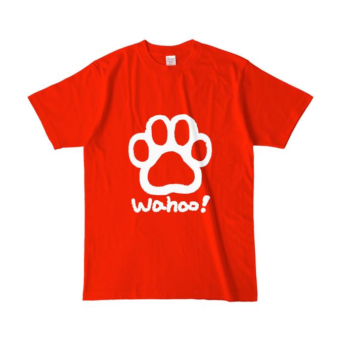 カラーTシャツ(濃色) - L - レッド