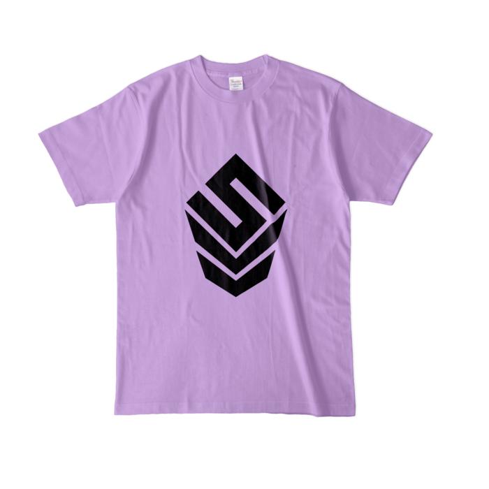 カラーTシャツ(淡色) - L - ライトパープル