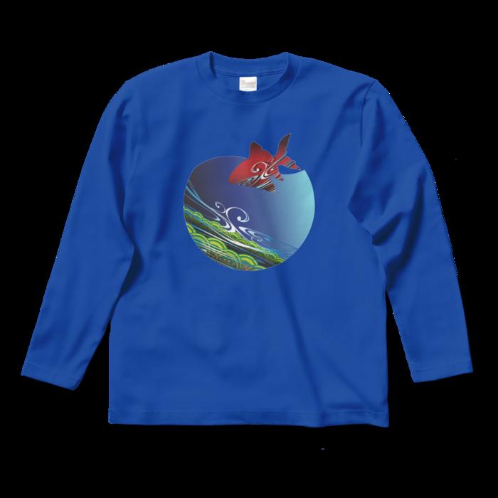 ロングスリーブTシャツ - S - ロイヤルブルー