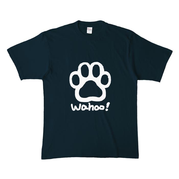 カラーTシャツ(濃色) - XL - ネイビー