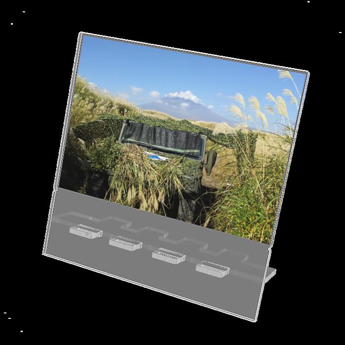 アクリルスマホスタンド - 160x160mm