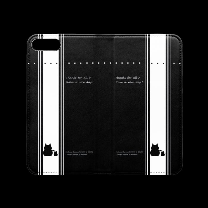 手帳型iPhoneケース(ベルトなし) - iPhone 8 Plus / 7 Plus - ストラップ穴 なし