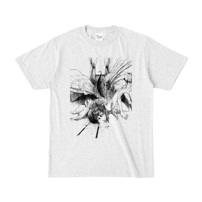 カラーTシャツ(淡色) - S - アッシュ